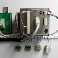 CUBE VFD Motor Controller Rear with Expansion Board