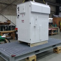 EnerPACK Integrated VFD System with Sinewave & IEEE519 Filters and Step Up Transformer