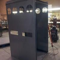 EnerPACK Enclosure Before Paint