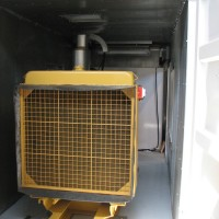 Generator Container End View