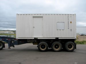 Container VFD/DOL Skid Loading