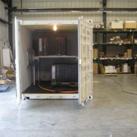 Container Concealed Skid Air Conditioning System